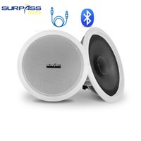 Bluetooth Tavan Hoparlör Ev Ses 8OHM HiFi Stereo Ses Dahili Sınıf-D Amplifikatör 10W PA Sistemi Arka Plan Müzik Hoparlörler