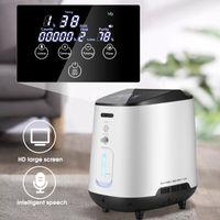Purificatore ad aria regolabile Purificatore portatile Mini ossigeno Macchina generatore di ossigeno 1-7L / min concentratore Donne incinte anziane Purificatori di sonno