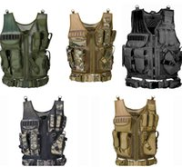 Vests Gearvests Clothing Tactical Geartactical Mti-Pocket Swat Army Cs Hunting Vest Cam Hiking Aessories Drop Delivery 2021 Qelsf