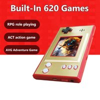 Portable Game Players Video Consoles Handheld Player 620 Retro Games Classic LCD Color Screen For Gaming Boys Birthday Gifts
