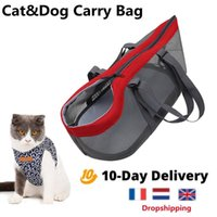 Dog Car Seat Covers Outdoor Travel Pet Carrier Bag Mesh See-through Cat Folding Cool Carriers Carrying Breathe Nylon Handbag