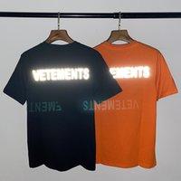 Renk Çok Basit Gevşek Sokak Yansıtıcı Lazer Mektup Baskı Kısa Kollu T-Shirt Y3SY