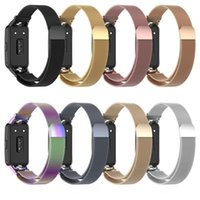 Watch Bands Stainless Steel Metal Wrist For Huawei Honor Band 6 Strap Smart Wristband Replacement Belt Bracelet