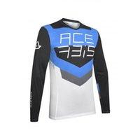 Гоночные куртки Мужская Motocross MTB Downhill Джерси DH Горный велосипед Длинный рукав FXR Рубашка MX Быстросохнущая Дышащаяся Одежда Acerbis