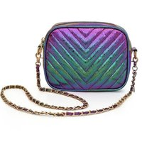 Diseñador mujer bolsa clásico bolso de moda hombro simple Messenger cadena pequeña Pequeñas bolsas de cámara de todo partido