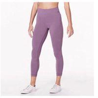Podsycal Katı Renk Kadın Yoga Pantolon Yüksek Bel Spor Salonu Giyim Tayt Elastik Fitness Bayan Genel Tam Tayt Egzersiz Boyutu XS-XL (007