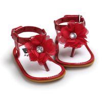 2021 Младенческие первые ходунки детская девочка обувь для малышей квартиры сандалии премиум мягкие резиновые подошвы противоскользящие летние цветок кружевной кроватки 0-18м