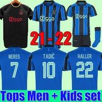 tops Manchester city soccer jersey 20 21 22 G. JESUS STERLING FERRAN DE BRUYNE KUN AGUERO 2021 2022 football kit shirts MAN uniform men + kids sets