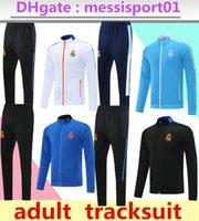 2020/21 treino kits jaqueta veste terno de futebol 2020 2021 futebol jaquetas com zíper ful set
