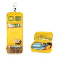 Resa Toalettsaker Väska med hängande krok Vattentät Makeup Kosmetisk arrangör för underkläder Shampoo Tillbehör 1XBJK2106