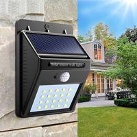 4W 20 LED lâmpada de lâmpada solar sensor de luz ip65 sensor de luz automaticamente acampamento noite jardim estrada à prova d 'água lâmpada de lâmpada de lâmpada ir iluminadores ir