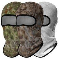 Cycling Caps & Masks Breathable Military Bandana Army Python Ski Balaclava Sport Scarf Fishing Hunting Tactical Kominiarka Headgear Face Mas