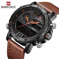 디자이너 시계 브랜드 시계 럭셔리 시계 ER 스포츠 Naviforce 남자의 석영 LED 디지털 시계 방수 군사 손목