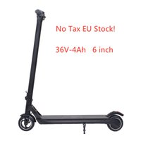 Nessuna tassazione Azioni UE! Smart Scooter Pieghevole Skateboard Electric Skateboard Max Velocità 25km / h 36V-4Ah 6 pollici APP Control X6
