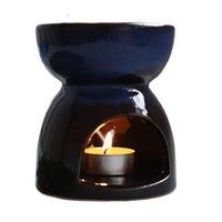 حاملي الشموع حامل النفط الموقد 95 ملليلتر السيراميك الشاي ضوء البخور رائحة الناشر فرن الديكور المنزل