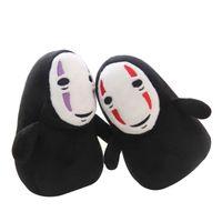 1 stück 15 cm spirited weg weniger mann anhänger kein gesicht ghost kaonashi gefüllte plüsch spielzeug puppe für kinder kinder geschenk