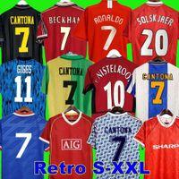Final Retro United 2002 Soccer Jersey Man Man UTD Football Giggs Scholes Beckham Ronaldo Cantona Solskjaer Manchester Robson 07 08 09 98 99 90 92 94 96 86 88 Nistelrooy Cole