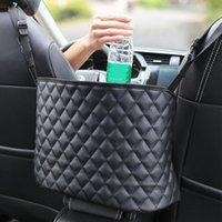 Car Organizer Net Pocket Handbag Holder Multifunctional Bag Rear Seat Back Hanging Nets Interior Accessories