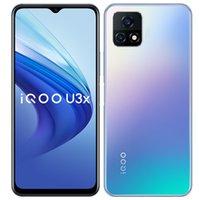 Original vivo IQOO U3X 5G Mobiltelefon 8 GB RAM 128 GB ROM Snapdragon 480 Octa Core Android 6,58 Zoll Full Screen 13.0mp 5000mAh Fingerprint id Face Wake Smart Mobiltelefon