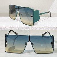 Mens und Womens Sonnenbrillen 3130 große quadratische Farbverlauf-Farblinsen-Marke High-End-Modeeinkauf im Freien spezielle einteilige Rahmengröße 61-15-140 Designer-Gläser