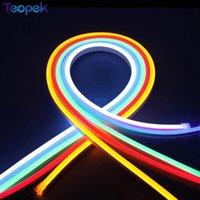 Strips 5M Flex Neon Light SMD2835 120leds / m LED Iluminación 6 * 12 mm Color de la superficie de la superficie de la superficie impermeable
