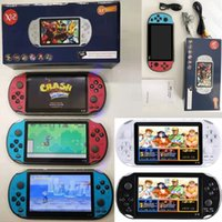 X12 Handheld Game Players 8GB Memory Portable Video Game Consoles with 5.1 inch Color Screen Display Support TF Card 32gb MP3 MP4 Player