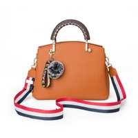 HBP women's bag 2021 fashion embroidery handbag European and American simple multi-function contrast shoulder strap messenger bags