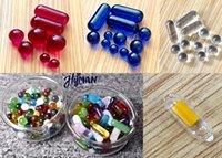 Verre de quartz Ruby Terp Perle Couleur Couleur Changer Round Ball Pilule de marbre Insérer 6mm 8mm BANGER Nails Bongs Huile Plateaux