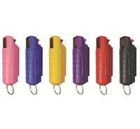 أدوات مراقبة 20ML رذاذ أسلحة الدفاع عن النفس للنساء منتجات الدفاع عن النفس المفاتيح المفاتيح في الهواء الطلق سلاسل المفاتيح