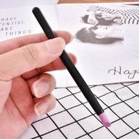 Nail Files 1Pcs Art Spoon Stone Polish Cut Tools Cuticle Pusher Pen Stick Quartz Manicure Pedicure Remover Dead Skin