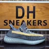 Men Women Running Shoes Ash Stone Blue Zebra Tail Light Cinder 3M Static Reflective Carbon Linen Womens Sport Trainers Sneakers