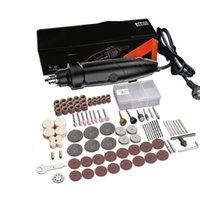 Set de herramientas rotativas de estilo de molinillo eléctrico Set de herramientas rotativas 350W DIY 400W 6 Velocidad Abrasivo Herramienta de grabador Eje del kit