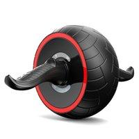Equipamento de fisiculturismo doméstico Abdômen Saudável Roda ioga Bolas Automatic Springback Chakra Abdominal Reduza o rolo de movimento de push do estômago