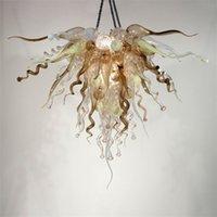 Modern Lamps Living Room Chandelier Crystal Lighting Hand Blown Murano Glass Chandeliers LED Light