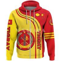Men's Hoodies & Sweatshirts Ethiopia Tigray Strong Africa 3D Print Zip Up Hoodie Man Female Zipper Pullover Sweatshirt Hooded Jersey Streetw