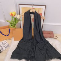 Herfst Winter 2021 Mode Luxe Sjaal Klassieke Mannen Dames Designer Rabbit Cashmere Sjaal Sjaal 180cm * 65cm