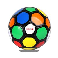 Bola de futebol para crianças combinam futebols tamanho 2 crianças pluting treinamento futebol bolas meninos grils equipamento ao ar livre 15cm