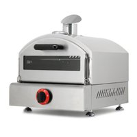 Kitchen Outdoor Commercial Gas Heating Pizza Baking Oven