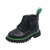 Children Boots Kids Shoes Girls Boys Footwear Autumn Winter Short Boot Moccasins Soft Leather Student Wear B8184