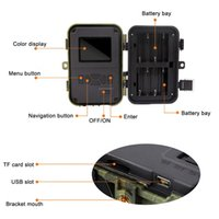 Neue Jagdkamera IR-LEDs Nachtsicht-Camcorder wasserdichte Scouting-Kamera für die Überwachung des Drop-Versands