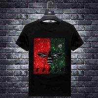 Size 7XL Plus Bee Rhinestones T Shirts Men Brand Short Sleeve Fashion Man Streetwear O Neck Slim Modal Cotton Tshirts