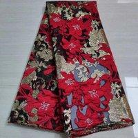 Последние африканские кружевные ткани высокого качества жаккардовые брукадные кружевные ткани французский органза нигерийская кружевная ткань для свадьбы PJK20118A