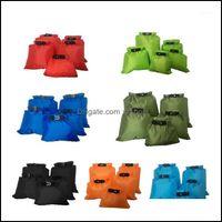 Outdoor Sports & Outdoorsoutdoor Bags 5Pcs Set Of Mtifunctional Portable Water-Reery River-Drifting Five-Piece Waterproof Bag Storage Bag1 D