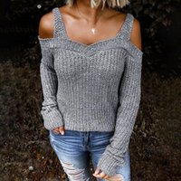 Aimsnug Sweater Women Autumn 2021 Female Casual Long Sleeve Hollow Out Pullovers Strap Knitted Sweaters Coat Winter Warm Clothes Women's