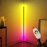 Floor Lamps LED For Living Room Bedroom Nordic Modern Simple RGB Lamp Atmosphere Standing Indoor Light Fixtures