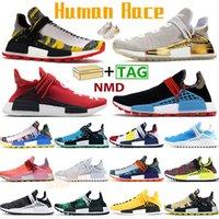 PW الجنس البشري الاحذية NMD الرجال النساء أحذية رياضية الصين حزمة سعيد pharrell الشمسية الأصفر الأحمر أوريو نوبل سبورست المدربين أزياء chaussures