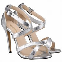 Sexy Leisure Occupation Women Sandals PU Leather Shoes Round Toe 11CM Thin High Heels Buckle Strap Size 35-42