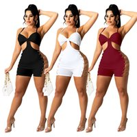 wholesale womens dresses one piece set sexy hollow out mini y2k dress high quality elegant luxury club wear women summer clothes klw7364
