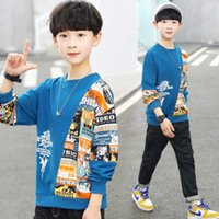 Simple Spring Autumn Boys Sweatshirts Jacket Coat KidsOvercoat Outwear Teenager Tops Children Clothes Cotton Sport School High G0917