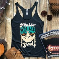 Women's Tanks & Camis Feelin Willie Good Tank Top Tequila Tops Womens Festival 2021 Summer Plus Size Harajuku Woman Clothes Drink Cowboys Pr